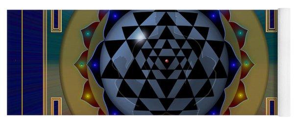 Yoga Mat featuring the digital art Calling Home by Vincent Autenrieb