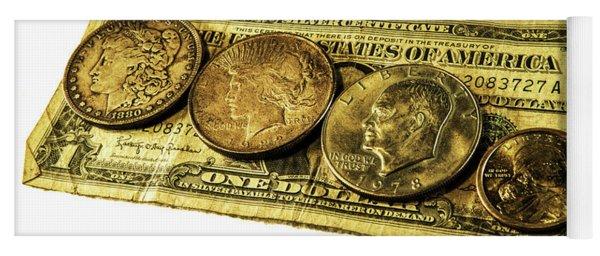 Shrinking Dollars Yoga Mat