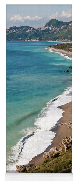 Sicilian Sea Sound Yoga Mat