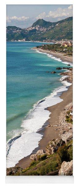 Sicilian Sea Sound Yoga Mat