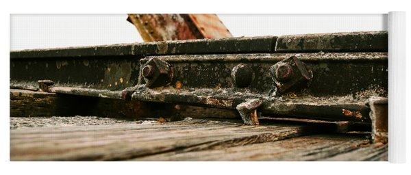 Side Of Rail #photography #trains Yoga Mat