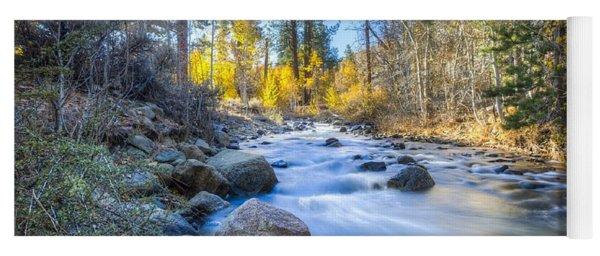 Sierra Mountain Stream Yoga Mat