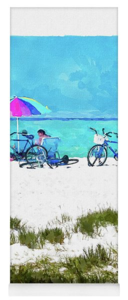 Siesta Key Beach Bikes Yoga Mat
