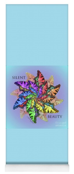 Silent Beauty Yoga Mat