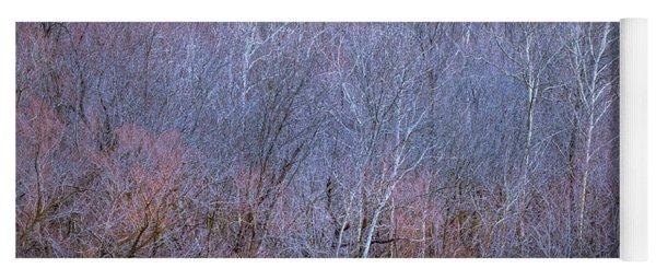 Silent Trees Yoga Mat