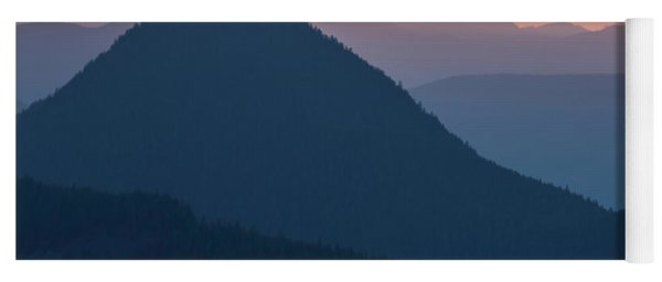 Silhouettes At Sunset, No. 2 Yoga Mat