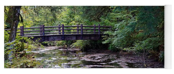 Silver Creek Falls #38 Yoga Mat