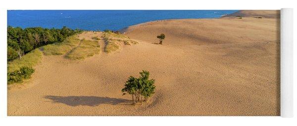 Silver Lake Dunes Yoga Mat