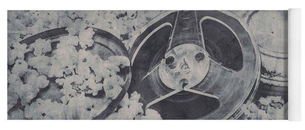 Silver Screen Film Noir Yoga Mat