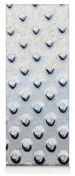 Silvery Abstract 2478 Yoga Mat