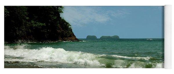 Simple Costa Rica Beach Yoga Mat
