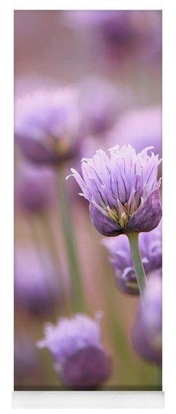 Simple Flowers Yoga Mat