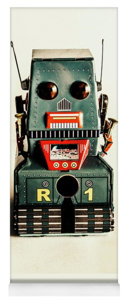 Simple Robot From 1960 Yoga Mat