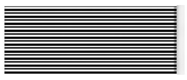 Simply Stripes- Art By Linda Woods Yoga Mat