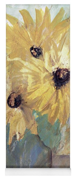 Simply Sunflowers  Yoga Mat