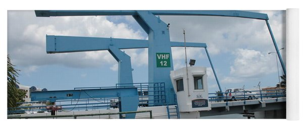 Simpson Bay Bridge St Maarten Yoga Mat