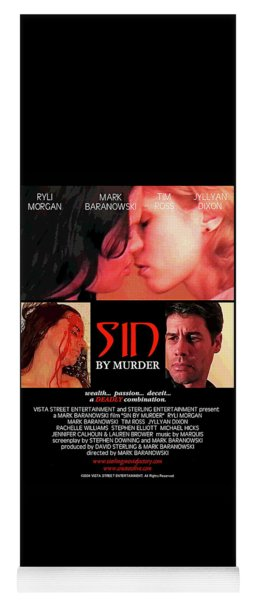 Sin By Murder Poster A Yoga Mat