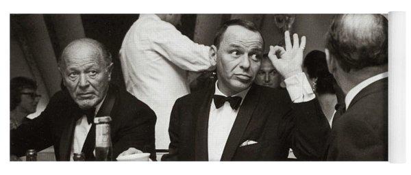 Sinatra And Ed Sullivan At The Eden Roc - Miami - 1964 Yoga Mat