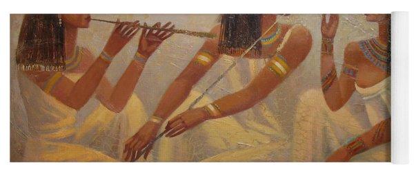 Singers Of Pharaoh Yoga Mat