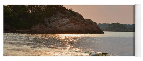 Singing Beach Silver Waves Manchester By The Sea Ma Yoga Mat