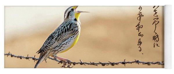 Singing Meadowlark Yoga Mat