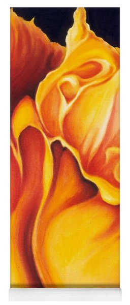Singing Tulip Yoga Mat