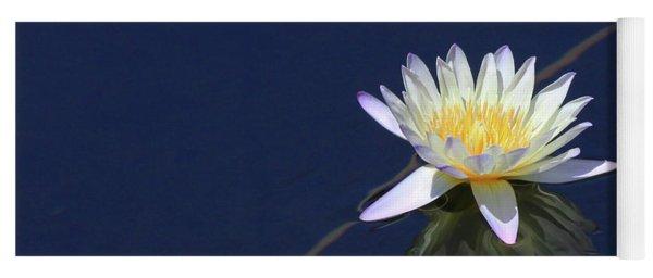 Single Lotus Yoga Mat