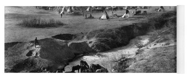 Sioux Native Americans, 1891 Yoga Mat