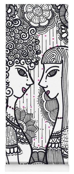 Sisters - Ink Yoga Mat