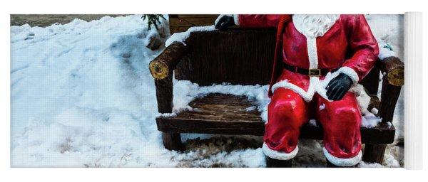 Sit With Santa Yoga Mat