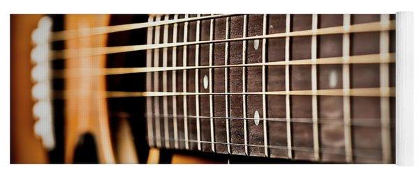 Six String Guitar Yoga Mat