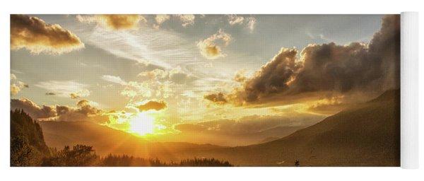 Skagit Valley Sunset Yoga Mat