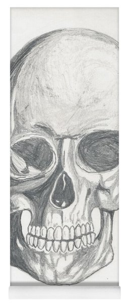 Skull Study 2 Yoga Mat