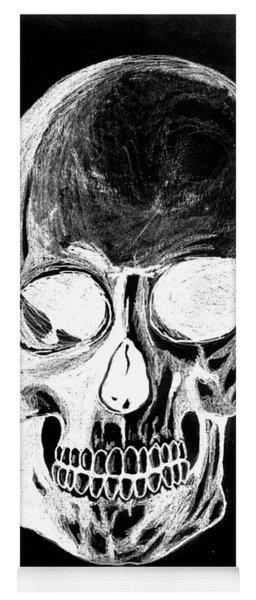 Skull Study 3 Yoga Mat