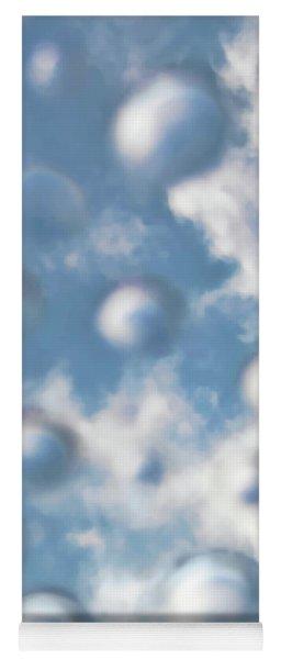 Sky Bubbles Yoga Mat