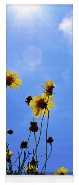 Sky Flowers Yoga Mat