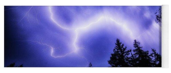 Sky Lightning Yoga Mat