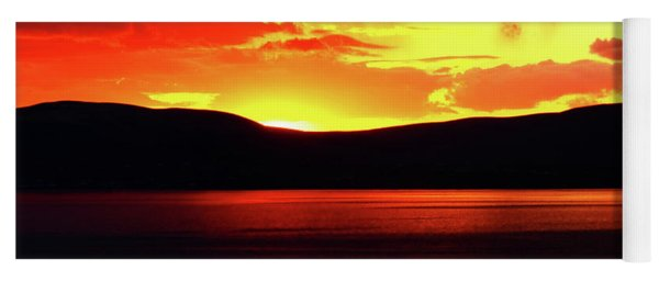 Sky Of Fire Yoga Mat