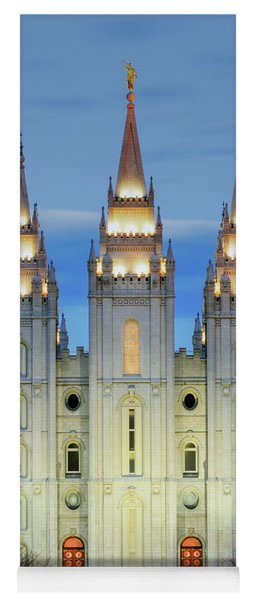 Slc Temple Blue Yoga Mat