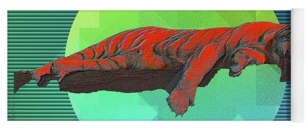 Sleeping Tiger Yoga Mat