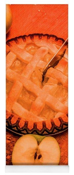 Slicing Apple Pie Yoga Mat
