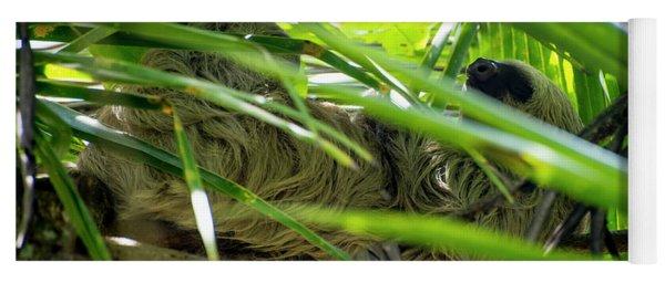 Sloth Life Yoga Mat