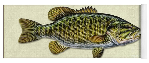 Smallmouth Bass Id Yoga Mat