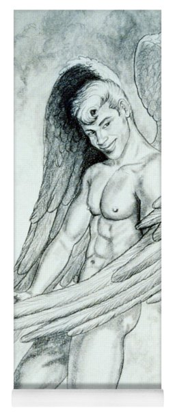 Smiling Angel Yoga Mat