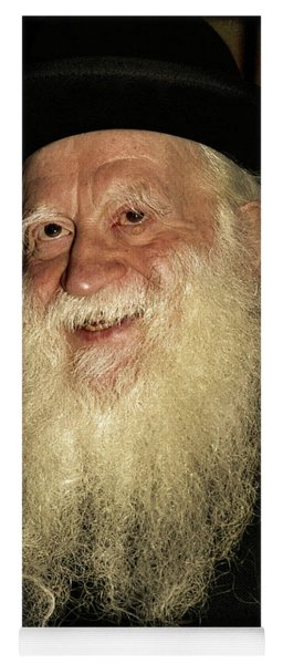 Rabbi Yehuda Zev Segal - Doc Braham - All Rights Reserved Yoga Mat