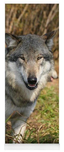 Smiling Wolf Yoga Mat