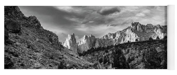 Smith Rock Bw Yoga Mat
