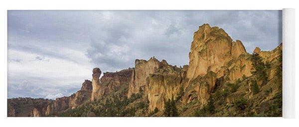 Smith Rock Cliffs Yoga Mat