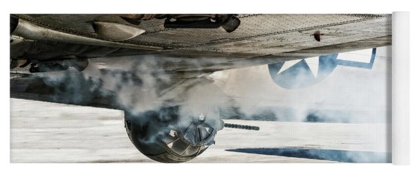B-17 Madras Maiden Smoke Out Yoga Mat