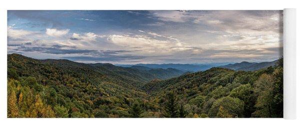 Smokey Mountain Sky Yoga Mat